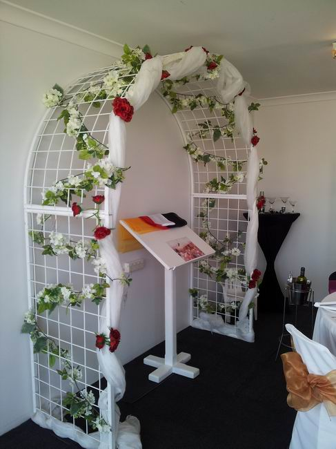 Perth wedding marquees your wedding marquee and party hire garden arch decorations not included junglespirit Choice Image